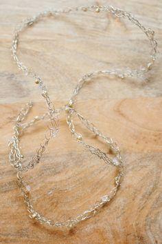 Gwen by Happily Ever Headwear Headpiece Wedding, Bridal Headpieces, Silver Headband, Beads And Wire, Hair Band, Crystal Rhinestone, Veil, Sparkle, Fancy