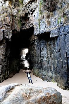 things to do in port arthur - Remarkable Cave Tasman Peninsula