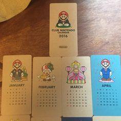 Nintendo Calendar Club Nintendo