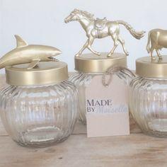 DIY voorraadpotjes :) Wil je weten hoe je dit maakt? Check mijn site: www.madebymoiselle.weebly.com
