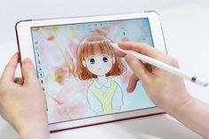 Applepencil Character Doodle Illustration Illustrator Ipad Pro Manga Original Paint ıllustrator