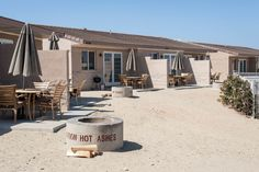 San Onofre Beach Resort cottages at Camp Pendleton