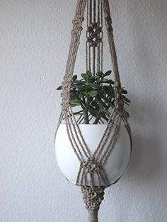 Twine Jute Macrame plant hanger ** Clicking on the VISIT button will lead you to find similar product