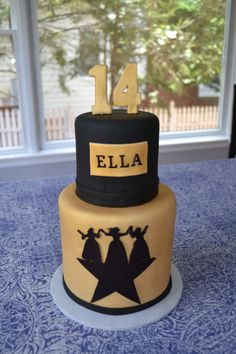 My client for this cake was a young woman in love with the Broadway play Hamilton and so requested a birthday cake to match. I used one of the main images from the play and cut out a fondant silho… Hamilton Broadway, Hamilton Musical, 14th Birthday, Birthday Parties, Birthday Ideas, Birthday Cakes, Alexander Hamilton Birthday, Hamilton Cakes, Cake Pink