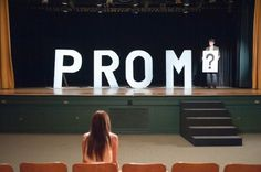 Prom – I have nothing against prom. I went to my senior prom; I had fun at my senior prom. When it comes down to it, prom is just a high school dance that not everyone can attend at once. Homecoming Proposal, Homecoming Dance, Senior Prom, Senior Year, Homecoming Posters, Asking To Prom, Asking Someone Out, Prom 2011, Prom Invites