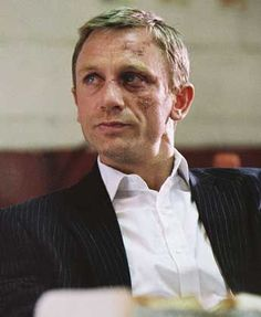 I give you Daniel Craig in Layer Cake…