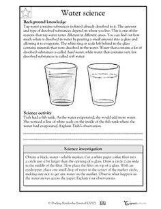 Printables Science Worksheet For 5th Grade comprehension worksheets and on pinterest free fifth grade with answer keys science math reading good