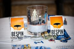 Very clever DIY Star Wars centerpiece.
