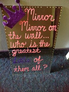 Mirror Mirror On The Wall Who Is The Greatest Little Of Them All? #DphiE