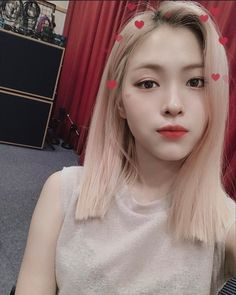 Discover recipes, home ideas, style inspiration and other ideas to try. Korean Celebrities, Celebs, Aesthetic Girl, Ulzzang Girl, New Girl, Pink Hair, Korean Girl Groups, Kpop Girls, Most Beautiful