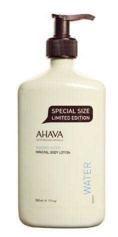 AHAVA Dead Sea Water Mineral Body Lotion, 17 fl. oz. AHAVA http://www.amazon.com/dp/B0060C72SU/ref=cm_sw_r_pi_dp_xmJdub0GGZC06