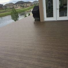 New color from #duradek ...#barnwood the peoples new favorite color. #windeck #decks #decking #manitoba #maintenancefree…