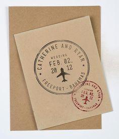 "Timbre mariage, timbre Destination mariage personnalisé, timbre mariage Destination, 1 x 1"" timbre"