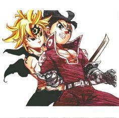 Nanatsu no Taizai Seven Deadly Sins Anime, 7 Deadly Sins, Meliodas Vs, Manga Anime, Otaku Anime, 7 Sins, Seven Deady Sins, Anime Artwork, Digimon