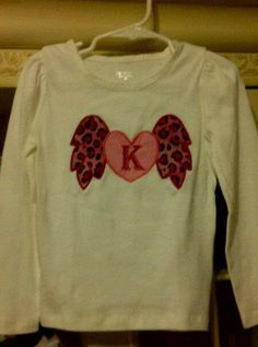 Hearts Flying on Angel wings by KandRsCreations on Etsy, $18.00