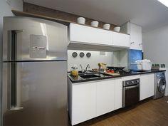 Cozinha do apartamento decorado - Sublime Vila Prudente