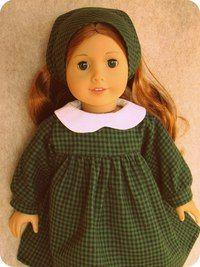 Doll's therapy. Для заболевших куклами. Платье для куклы в стиле 60-х годов.