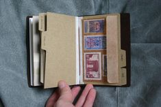 Traveler's Notebook Passport Size - custom notebook pocket inserts - stamps | Flickr - Photo Sharing!