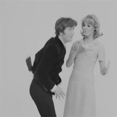 • my gif gif Black and White the beatles Paul McCartney john lennon ringo starr george harrison gifset Beatles gif 1960's a hard day's night 1964 AHDN Beatles film tragicalhistorytour •