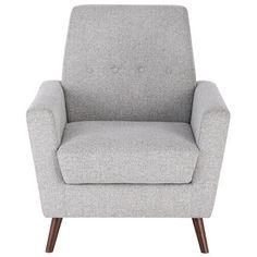 Shop for HomePop Tufted Mid Mod Accent Chair. Get free shipping at Overstock.com - Your Online Furniture Outlet Store! Get 5% in rewards with Club O! - 23451303