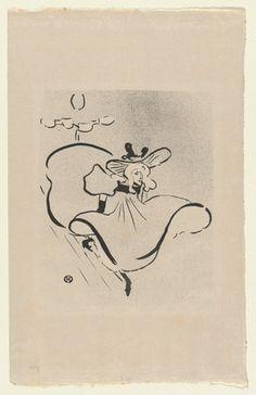 Henri de Toulouse-Lautrec. Jane Avril. 1893