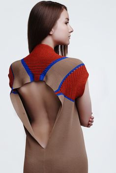 Knitted textile design project '14 on Behance