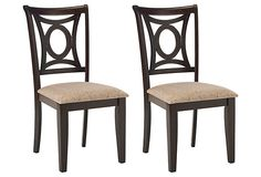 Heather Dining Side Chairs, Pair on OneKingsLane.com