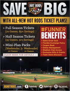 We are proud to announce our ALL-NEW affordable and #FUNNER Season Ticket Plans! SAVE BIG on Season Tickets and Mini-Plans in 2014. For more details, check out the full release!