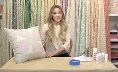 DIY Accent Pillows #LaurenConrad #CraftyCreations
