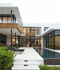 Follow @interiordose more!Franco Residence by KZ Architecture #architecturedose to be feature ________ Location: GoldenBeach, Florida © Robin Hill Tag an architecture lover!!