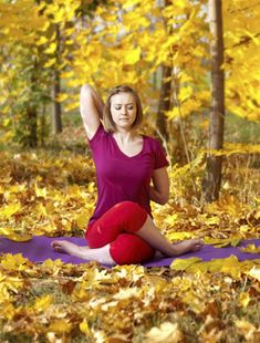 5 Yoga Poses for Fall