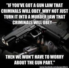 Talking about politics and guns seems to slip off our priority list. When is it time to talk about gun politics with students and firearms owners? Gun Quotes, Life Quotes, Liberals Are Idiots, Law Abiding Citizen, Pro Gun, Liberal Logic, The Ugly Truth, Gun Rights, Conservative Politics