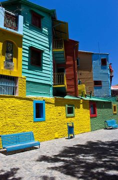 Windows of Colour, Buenos Aires, Argentina