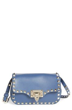 Free shipping and returns on Valentino 'Rockstud' Crossbody Bag at Nordstrom.com. Signature pyramid studs trace the clean, modern profile of a sized-down crossbody bag cast in finely grained leather.