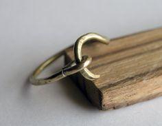 Hook Ring by HeroKing on Etsy