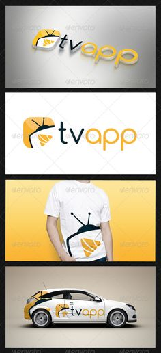 Media Tv Player Logo Template — Vector EPS #movie #agency • Available here → https://graphicriver.net/item/media-tv-player-logo-template/3614393?ref=pxcr