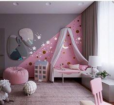 33 Adorable Nursery Room Ideas For Baby Girl - Bedroom Decor Ideas - Baby Bedroom, Baby Room Decor, Nursery Room, Girls Bedroom, Bedroom Decor, Nursery Ideas, Girl Nursery, Babies Nursery, Playroom Decor