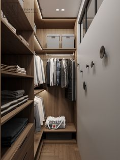 DEDE/Fusion apartment on Behance Walk In Closet Design, Bedroom Closet Design, Wardrobe Design, Closet Designs, Bedroom Decor, Narrow Closet, Small Closets, Small Walk In Wardrobe, Closets Pequenos