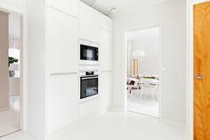 valkoinen keittiö, 60-luvun talo