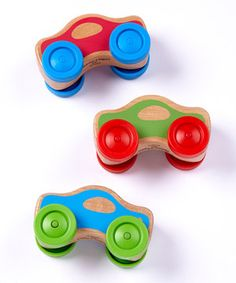 Loving this Stacking Car Set on #zulily! #zulilyfinds