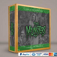 La Familia Monster #ColeccionCompleta DVD · BluRay · Calidad garantizada. #BoxSetDeLujo Presentación exclusiva de RetroReto. Pedidos: 0414.402.7582