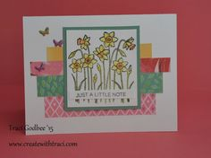 Create with Traci: Just a Little Note cards