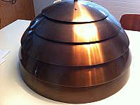 Dome Laminate Lamp von Hans Agne Jakobsson für Markaryd, Schweden
