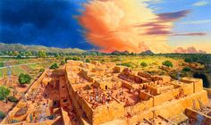 image_2032e-Native-Americans.jpg (1280×764) Reconstruction of life on a Hohokam platform mound in the Sonoran Desert in 1300 CE. Image credit: Pueblo Grande Museum, City of Phoenix.