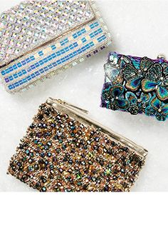 Accessorize Gift guide: party clutches