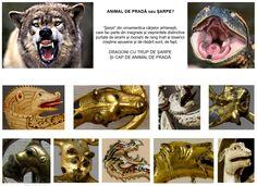 Analizând ornamentica cârjei arhiereşti, şi în mod special a motivului decorativ, dar şi simbolismul care a inspirat această ornamentică, se observă că, atât în cazul artei răsăriteane, cât și la cea apuseană, șerpii sunt, de fapt, dragoni cu trup de şarpe și cap de animal de pradă, remarcându-se cu uşurință urechile proeminente, uneori ciulite, forma botului căscat care, în foarte multe cazuri, prezintă mustăţi, și orientarea colților, adaptați pentru sfâșiere.