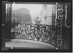 Iron work balcony in New Orleans