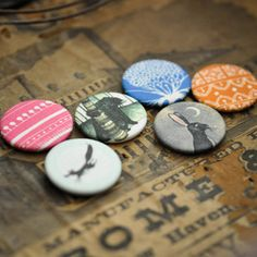 fabric badges from zosienka and rosie