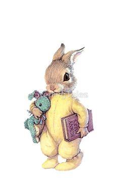 53 New Ideas Drawing Cute Bunny Rabbit Art And Illustration, Illustration Mignonne, Rabbit Illustration, Bunny Art, Cute Bunny, Lapin Art, Baby Animals, Cute Animals, Art Mignon