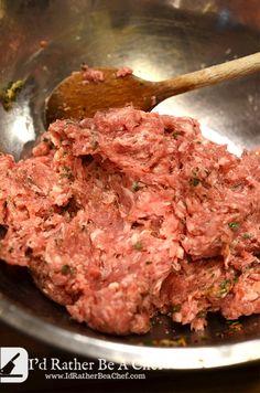 Recipes With Sage Sausage, Sausage Meat Recipes, Summer Sausage Recipes, Breakfast Sausage Seasoning, Homemade Sausage Recipes, Homemade Breakfast Sausage, Pork Recipes, Sausage Making, Breakfast